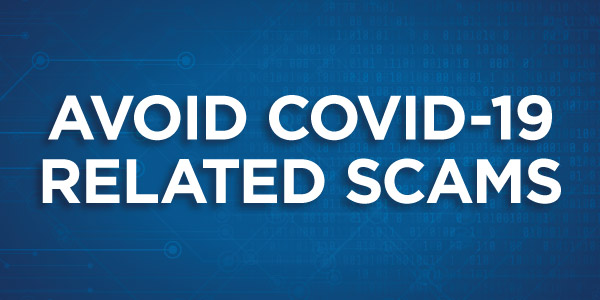 Avoid Covid-19 Scams