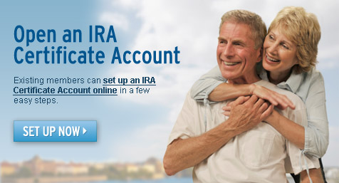 Open an IRA Certificate Account