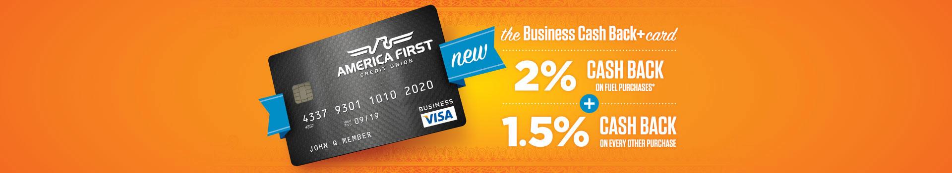 Utah Business Visa Credit Card & Visa IntelliLink - America First ...