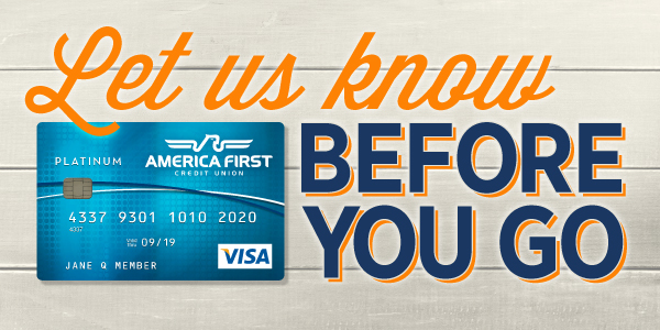 Travel Security Tips - America First Credit Union