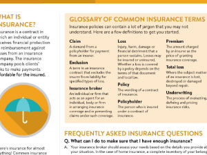 Intro to Insurance Handout - Click Here