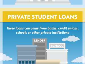 Student Loans 101 Infographic
