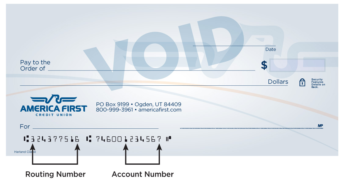 Routing Number America First Credit Union